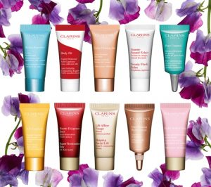 Clarins samples offer